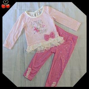 🍒NWoT Little Star ⭐ Cutie Pie 2 Pcs Outfit